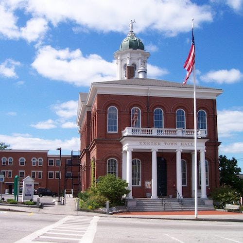Town Hall in Exeter, NH>