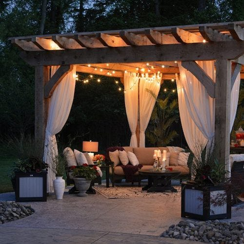 Decorated Pergola>
