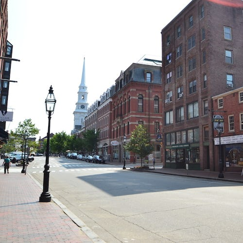 Street in Portsmouth NH>