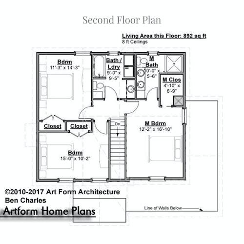 Ben Charles second floor layout