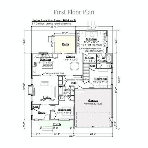 Boysenberry Biscotti first floor layout