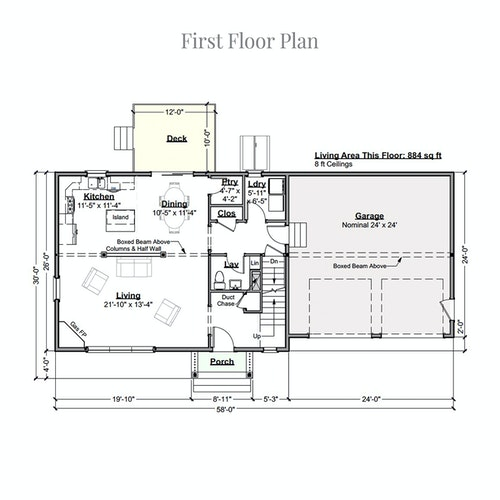Great Skye Classic first floor layout