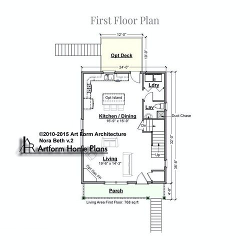 Nora Beth first floor layout