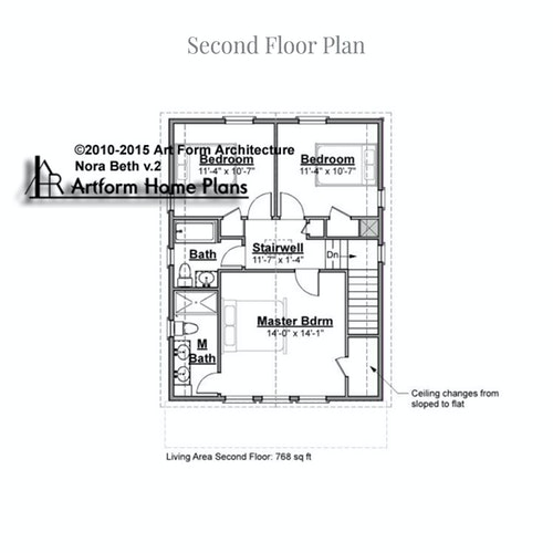 Nora Beth second floor layout