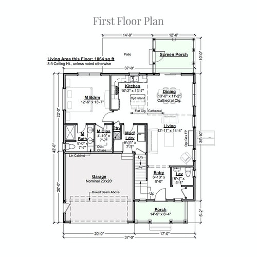 Orkney first floor layout