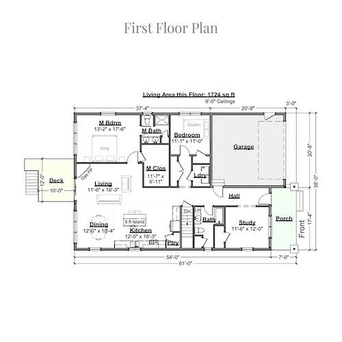 Pharell first floor layout