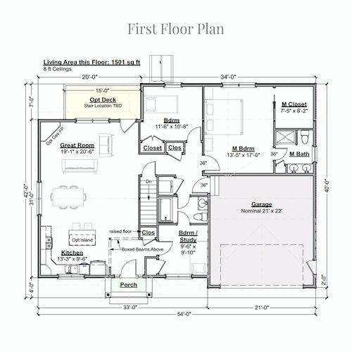 Sasha first floor layout