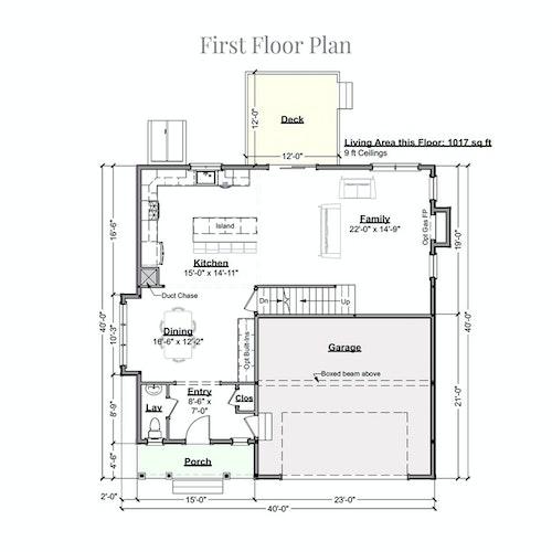 Sir Zach first floor layout
