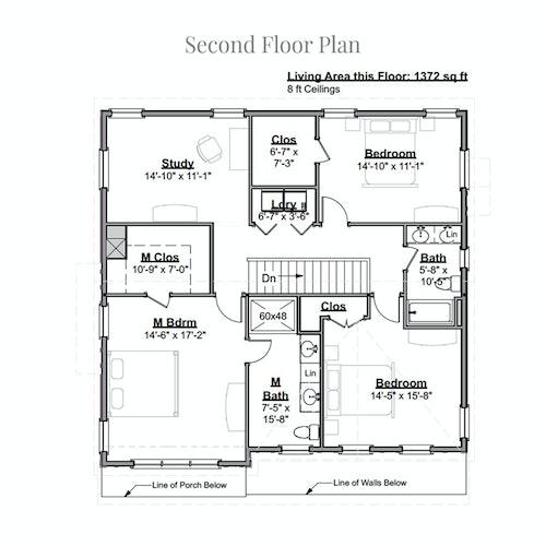 Sir Zach second floor layout